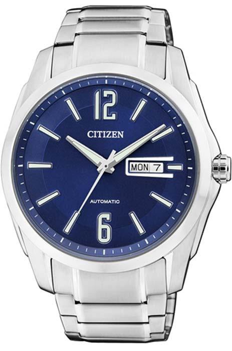 Zegarek męski Citizen automat NH7490-55LE - duże 1