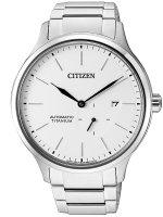 Zegarek męski Citizen titanium NJ0090-81A - duże 1