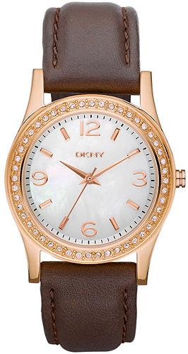 Zegarek damski DKNY bransoleta NY8373 - duże 1
