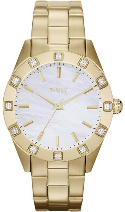 Zegarek damski DKNY bransoleta NY8661 - duże 1