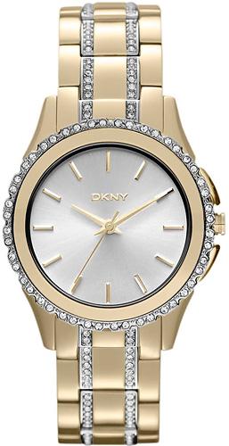 Zegarek damski DKNY bransoleta NY8699 - duże 1