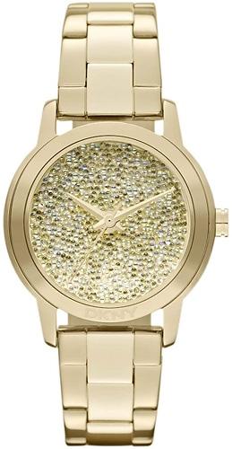 Zegarek damski DKNY bransoleta NY8717 - duże 1