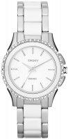 Zegarek damski DKNY bransoleta NY8818 - duże 1