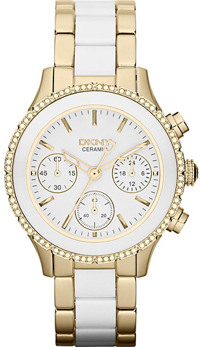 Zegarek damski DKNY bransoleta NY8830 - duże 1