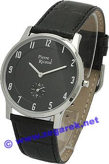Zegarek męski Pierre Ricaud pasek P11378.3224 - duże 1