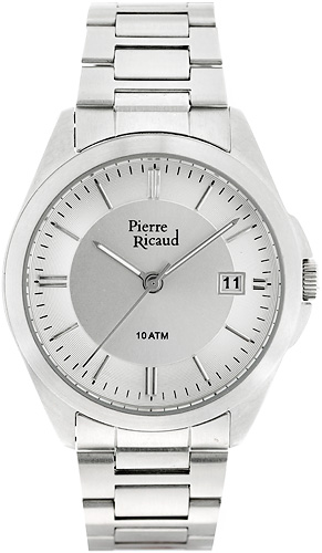 Zegarek męski Pierre Ricaud bransoleta P15661.5253Q - duże 1