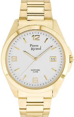 Zegarek męski Pierre Ricaud bransoleta P15959.1152Q - duże 1