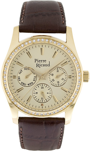 Zegarek Pierre Ricaud P21033.1211QFZ - duże 1