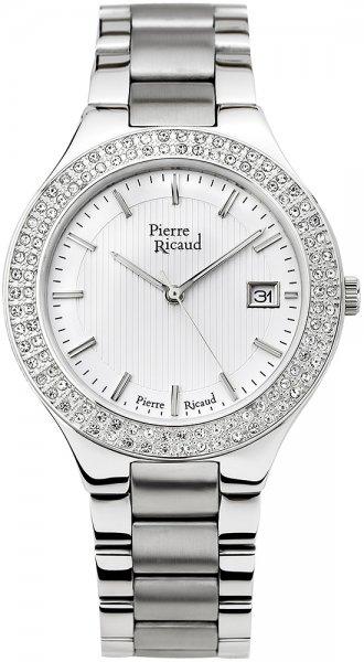 Zegarek damski Pierre Ricaud bransoleta P21054.5113QZ - duże 1
