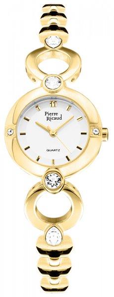 Zegarek damski Pierre Ricaud bransoleta P21070.1113QZ - duże 1