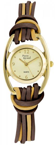 Zegarek damski Pierre Ricaud pasek P22019.1M71Q - duże 3