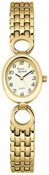 Zegarek damski Pierre Ricaud bransoleta P3104.1121Q - duże 1