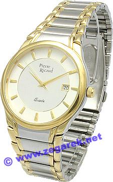 Zegarek męski Pierre Ricaud bransoleta P7482.2113 - duże 1
