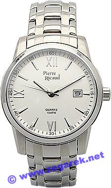 Zegarek męski Pierre Ricaud bransoleta P7660.5163 - duże 1