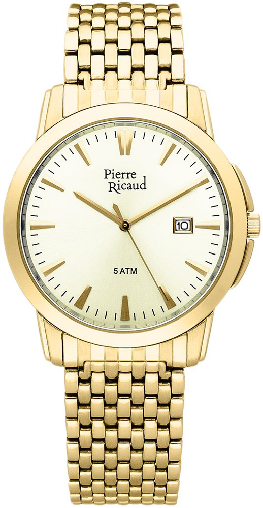 Zegarek męski Pierre Ricaud bransoleta P91027.1111Q - duże 1
