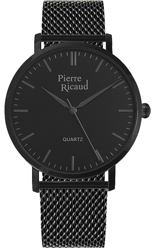Zegarek męski Pierre Ricaud bransoleta P91082.B114Q - duże 1