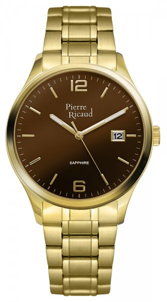 Zegarek męski Pierre Ricaud bransoleta P91086.115GQ - duże 3