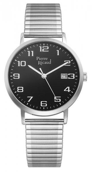 Zegarek męski Pierre Ricaud bransoleta P91097.5124Q - duże 3
