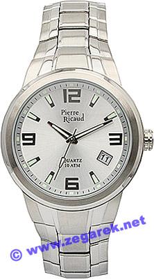 Zegarek męski Pierre Ricaud bransoleta P9646.5153 - duże 1