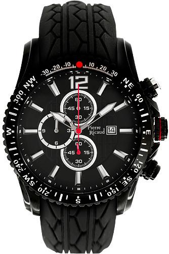Zegarek męski Pierre Ricaud pasek P97002.5254CHR - duże 3