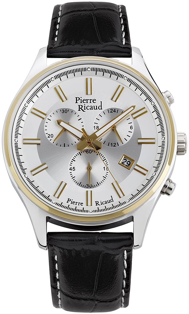 Zegarek męski Pierre Ricaud pasek P97007.2213CH - duże 1