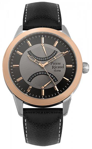Zegarek męski Pierre Ricaud pasek P97011.R217Q - duże 1