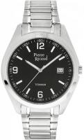 Zegarek męski Pierre Ricaud tytanowe P97014.4154Q - duże 1