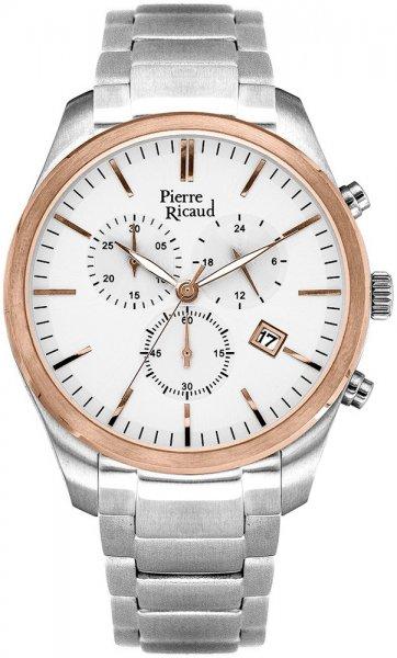 Zegarek męski Pierre Ricaud bransoleta P97015.R113CH - duże 1
