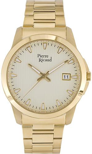Zegarek męski Pierre Ricaud bransoleta P97019.1111Q - duże 1