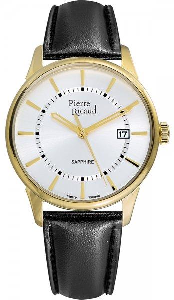 Zegarek męski Pierre Ricaud pasek P97214.1213Q - duże 1
