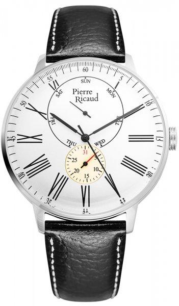 Zegarek męski Pierre Ricaud pasek P97219.5233QF - duże 1