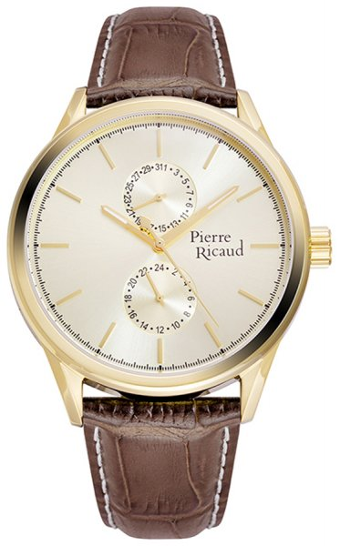 Zegarek męski Pierre Ricaud pasek P97244.1211QF - duże 1