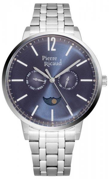 Zegarek męski Pierre Ricaud bransoleta P97246.5155QF - duże 1
