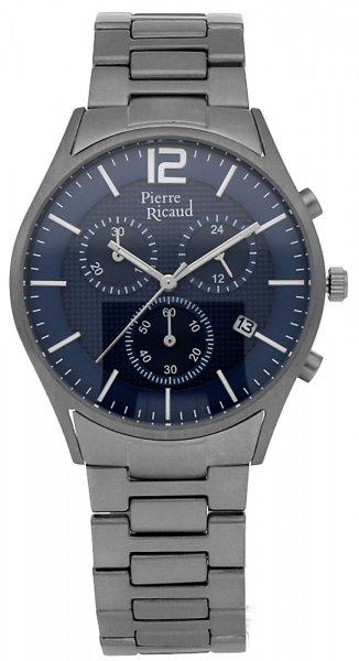 Zegarek męski Pierre Ricaud bransoleta P97252.4155QF - duże 3