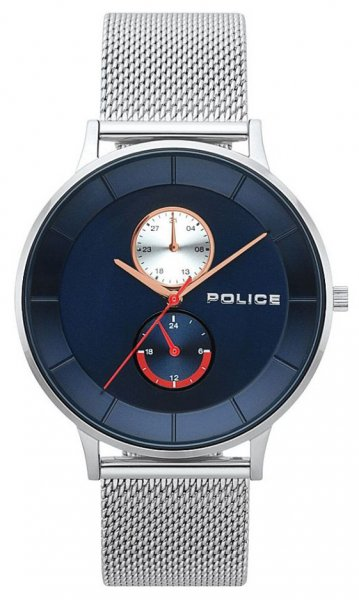 Zegarek męski Police bransoleta PL.15402JS-03MM - duże 1