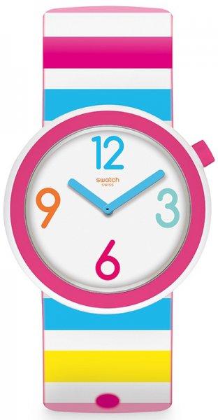 Zegarek damski Swatch pop PNW106 - duże 1