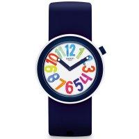 Zegarek damski Swatch pop PNW107 - duże 2