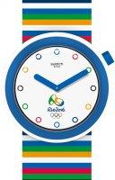 Zegarek unisex Swatch pop PNZ100 - duże 1