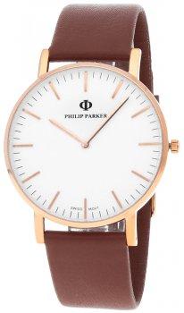 Zegarek męski Philip Parker Classic Italiano PPIT016RG2 - zdjęcie 1