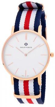 zegarek  Philip Parker PPNY007RG1