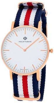 zegarek  Philip Parker PPNY007RG2