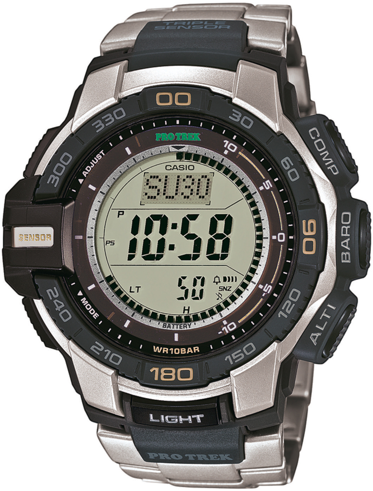 Zegarek męski Casio ProTrek protrek PRG-270D-7ER - duże 1