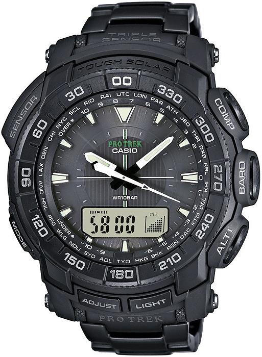 Zegarek ProTrek Casio Gyachung Kang - męski - duże 3