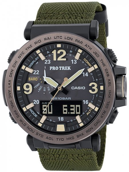 Zegarek Casio ProTrek PRG-600YB-3ER - duże 1