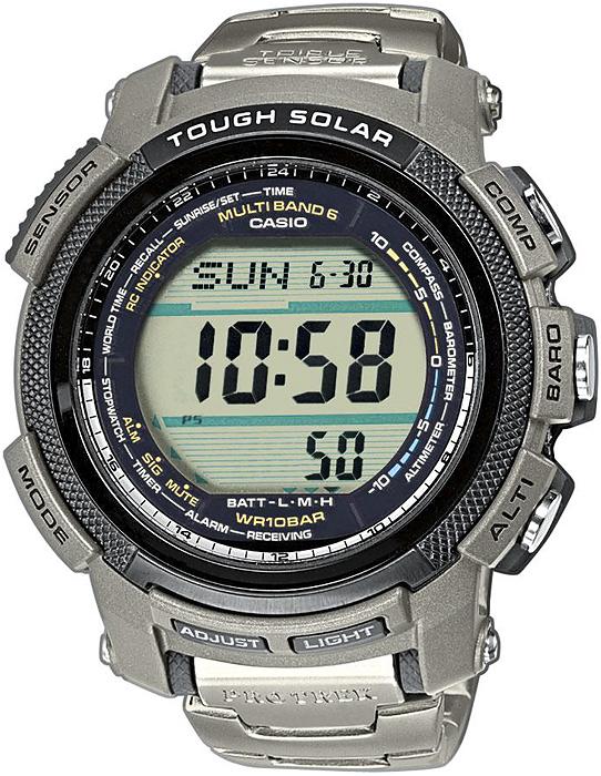 PRW-2000T-7ER - zegarek męski - duże 3