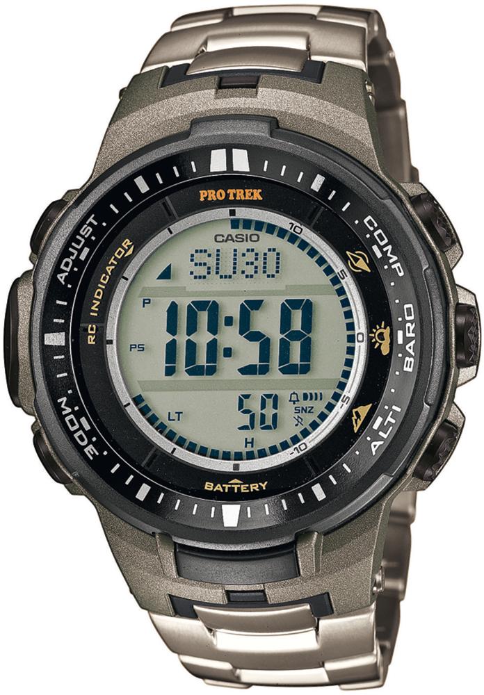 PRW-3000T-7ER - zegarek męski - duże 3