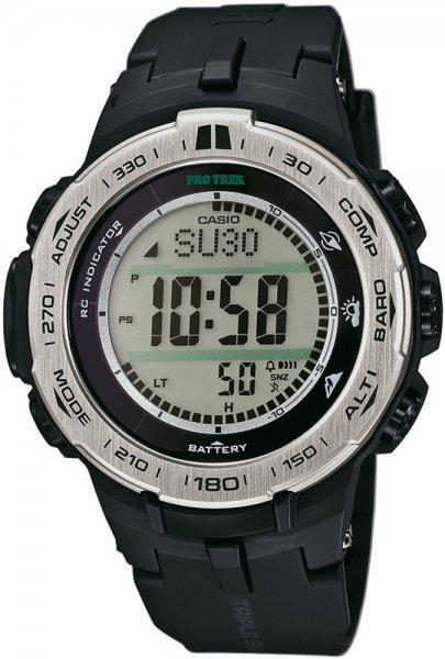 PRW-3100-1ER - zegarek męski - duże 3
