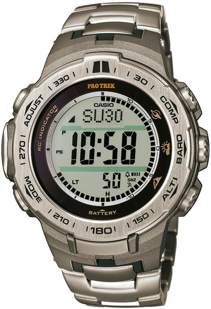 PRW-3100T-7ER - zegarek męski - duże 3