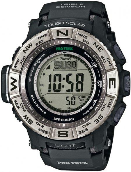 PRW-3500-1ER - zegarek męski - duże 3