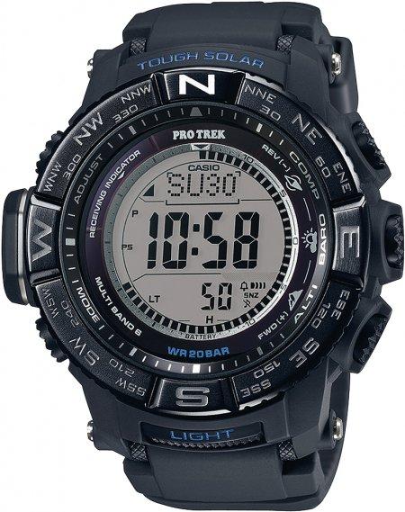 PRW-3510Y-1ER - zegarek męski - duże 3